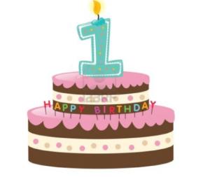 HAPPY BIRTHDAY LISA: 1 an!!!