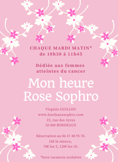 MON HEURE ROSE SOPHRO